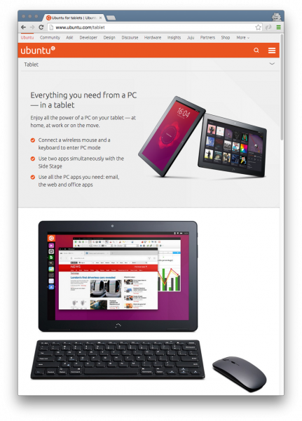 I got a BQ Aquaris M10 Ubuntu tablet · Joe's Blog